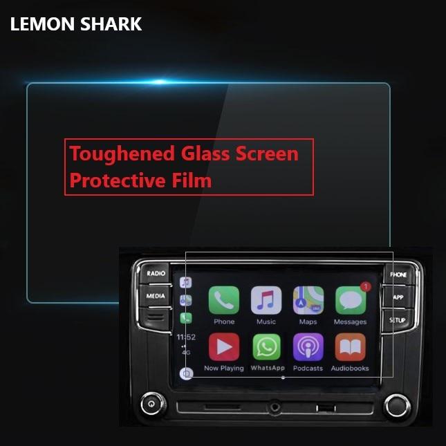 Película protectora de pantalla de vidrio templado Lemon Shark para Volkswagen RCD330 RCD330 PLUS 187A 187B 280B