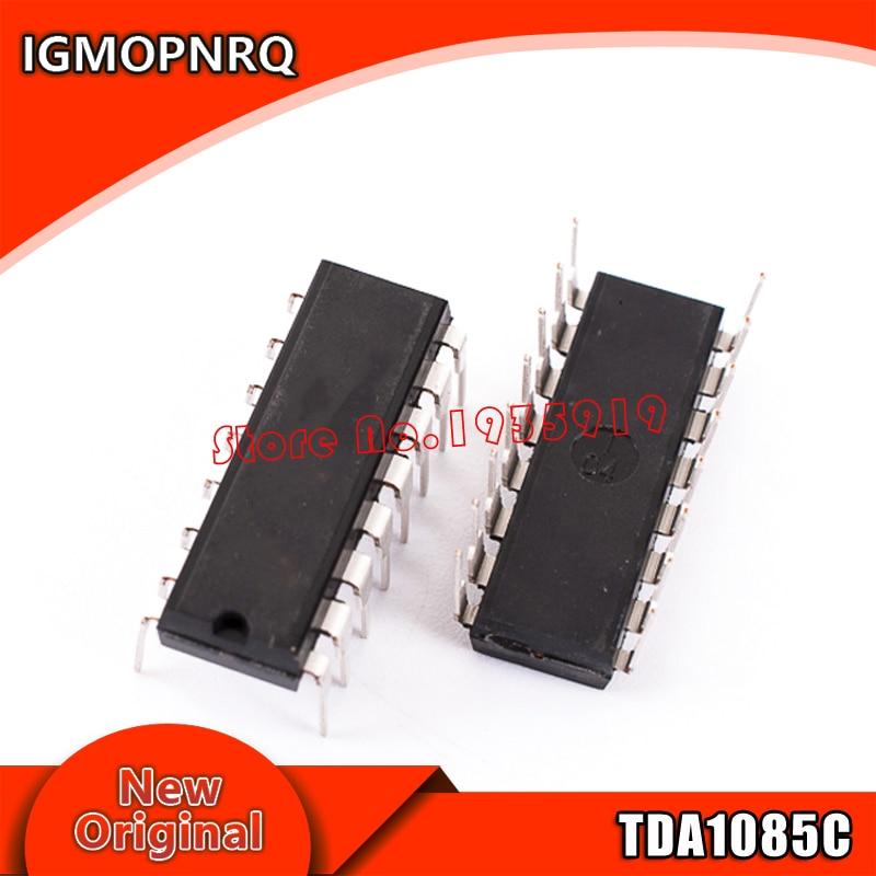 2PCS TDA1085C DIP-16  TDA1085 TDA1085CG DIP free shipping
