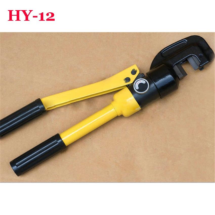 1PC 6T 12mm cortador hidráulico de varillas hidráulico barra de acero de HY-12
