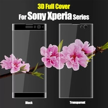 3D için Sony Xperia Xa2 artı cam temperli Xa Xz 2 3 Xz3 Xz2 premium ekran koruyucu X a2 z2 z3 koruyucu film cam 2xa zx