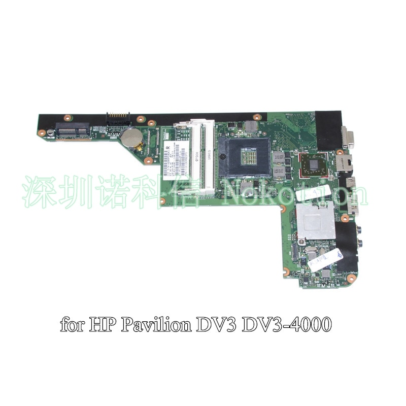 NOKOTION SPS 628186-001 HP Pavilion DV3 DV3-4000 노트북 마더 보드 HM55 DDR3 HD 5430 512M 그래픽
