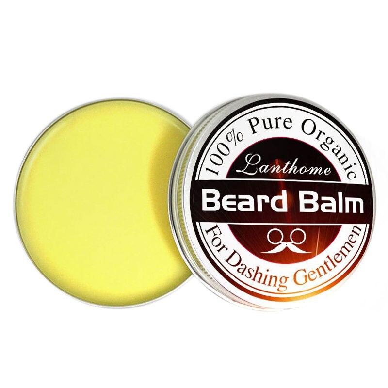 Лучший LANTHOME борода роста борода подарок бальзам для бороды