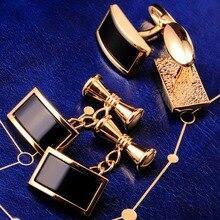 Maishenou Sieraden Franse Overhemd Mode Manchetknopen Voor Mannen Merk Manchetknopen Met Knoppen Kleur Goud Hoge Kwaliteit Sieraden