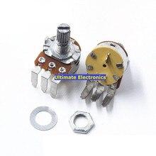 2pcs Potenziometro 148 tipo con interruttore B500K lampada interruttore dimmer potenziometro di Velocità Piegato piedi