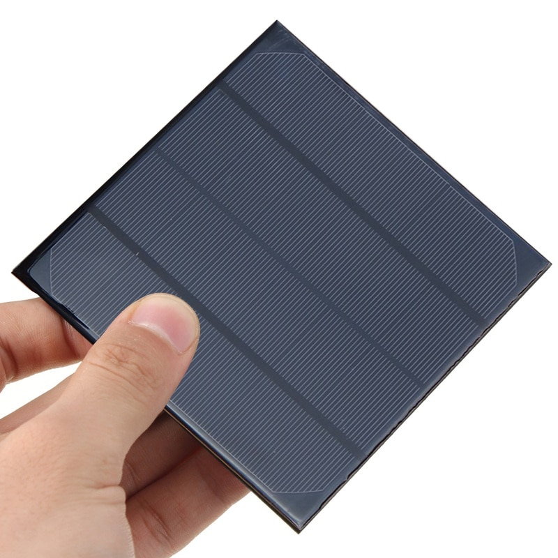 Mini 9V 12V 2W 3W 4,2 W Panel Solar banco de energía sistema DIY batería celular cargador módulo portátil Panneau Solaire energía