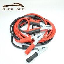 HB noir rouge 4M 1000AMP   Flambant neuf têtes de saut, câble de ligne durgence Clip de câble, charge dalimentation, fil de cuivre, ligne de batterie Auto