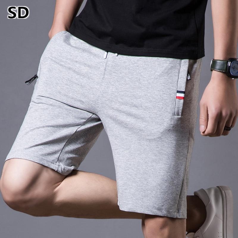 Pantalones cortos de verano para hombre cómodos pantalones cortos de playa con cintura elástica para playa para Hombre Pantalones cortos de moda Casual 1041