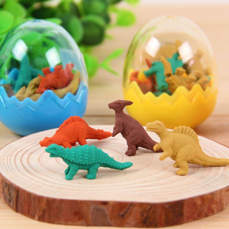 3d ластик kawaii, ластик borracha escolar gomas de borrar gomme silgi papelaria criativa fourniture scolaire erasers Яйца динозавра