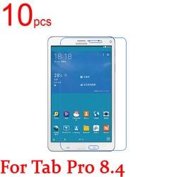 10 pcs Claro/Fosco/Nano LCD Tablet Capa Protetor de Tela para Samsung GUIA PRO 8.4 10.1 T320 T321 T325 T520 T521 T525 Film + Pano