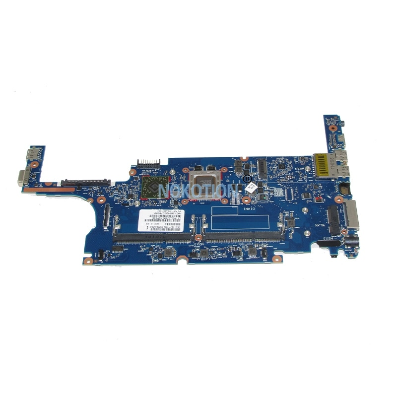 NOKOTION original de 765616-001 765616-601 6050A2631301-MB-A02 Tablero Principal para hp 825 G2 725 G2 placa base de computadora portátil A8 Pro-7150B CPU
