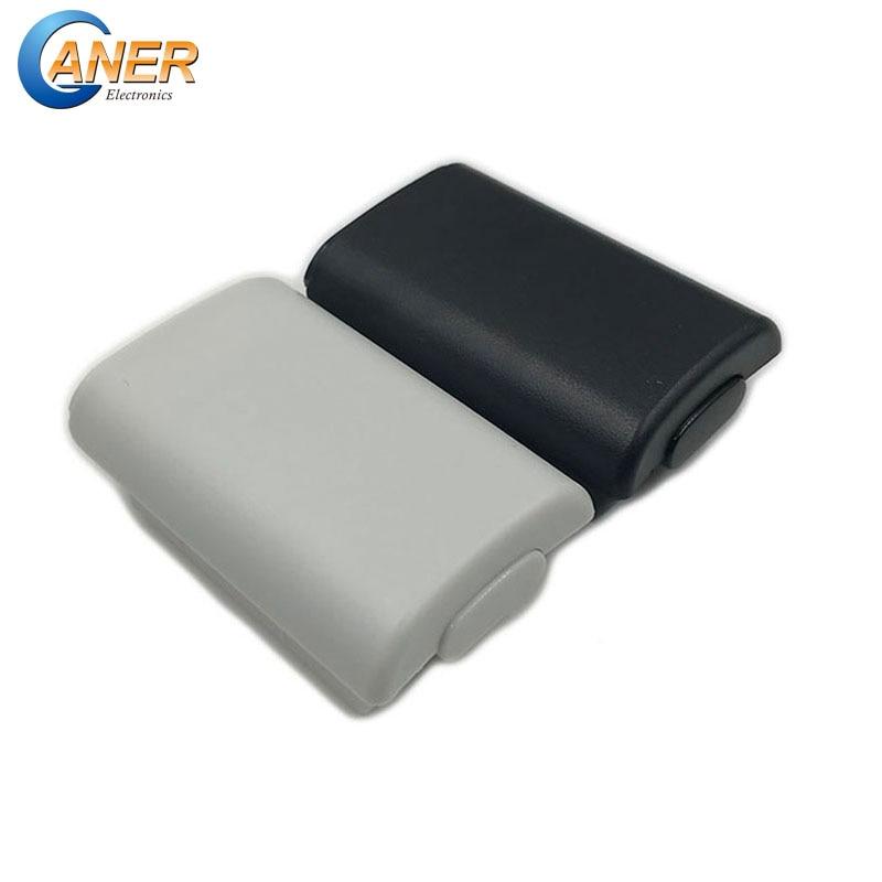 Ganer 100 xbox 360 バッテリーケースワイヤレスコントローラ充電式バッテリーカバーとxbox 360 用ステッカー