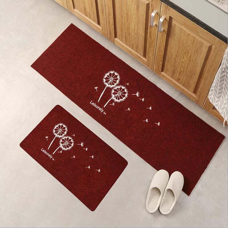 Anti-slip Lange Küche Matte Set Waschbar Schlafzimmer Nacht Teppich Moderne Eingang Fußmatte Wohnzimmer Teppiche und Teppiche Tapis