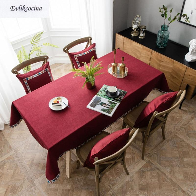 Mantel impermeable Para Mesa Nappe, Manteles rectangulares concisos, Tafelkleed Feest, Mantel Para...