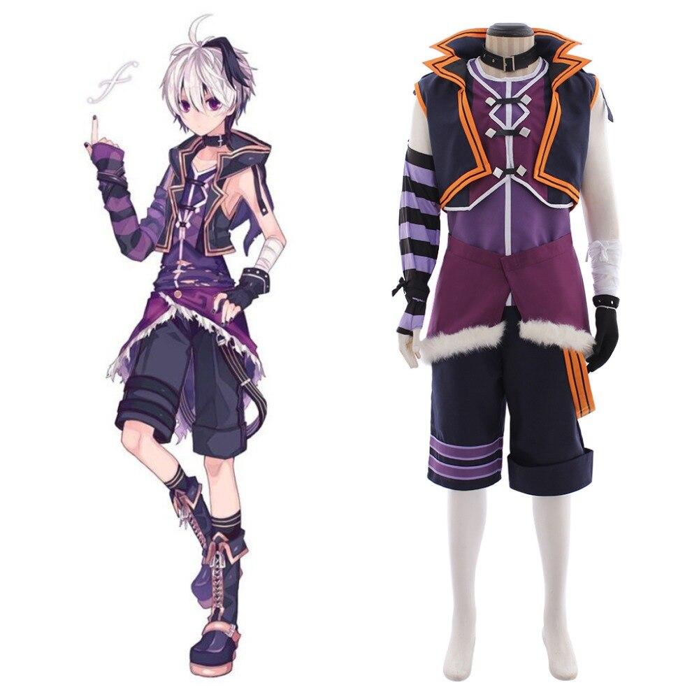 Cosplay de Anime VOCALOID4, Biblioteca V4 de flores, disfraz de Cosplay para adultos, disfraz de Halloween para hombre L320