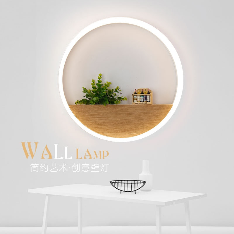 Led Wall Lamp LED Sconce Light Acrylic Modern Home Decoration wall Light for Bedside Bedroom/Dinning Room/Restroom With Bulbs  - buy with discount