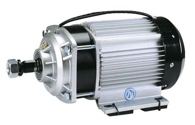 1000w Dc 48v / 60V فرش السيارات ، الكهربائية دراجة المحرك ، BM1412ZXF-01