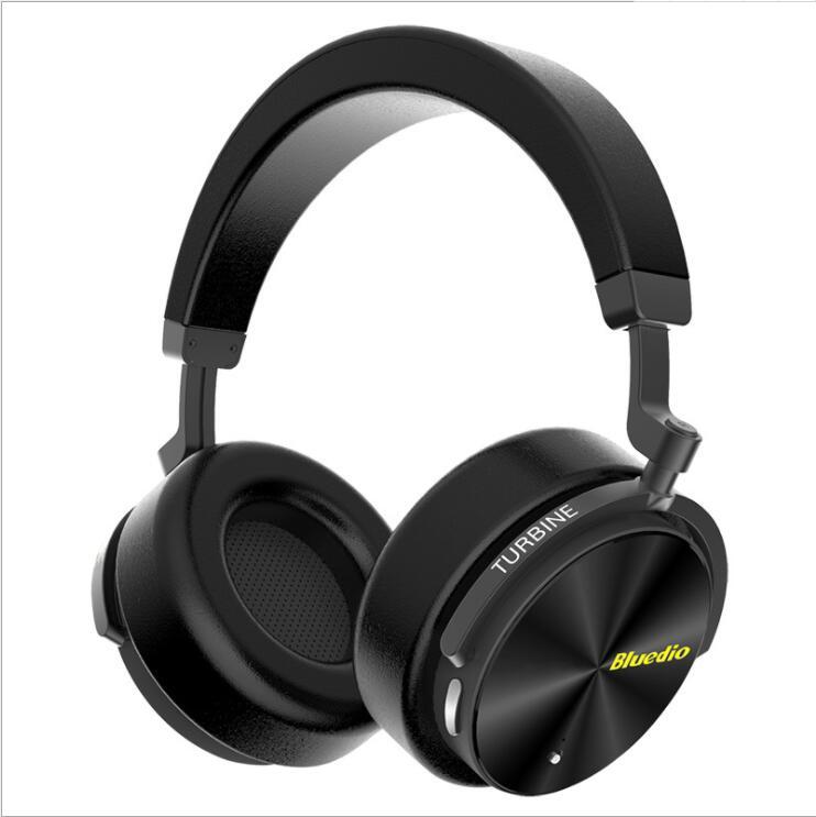 الأصلي Bluedio T5 سماعة لاسلكية تعمل بالبلوتوث 4.2 سماعة رأس ستيريو سماعة سماعة طوي لمط دعم Sd بطاقة