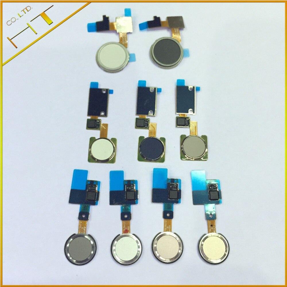 1pcs touch ID Fingerprint scanner Sensor Home Return Key Menu Button Flex Cable Ribbon for LG V10 V20 G5 nexus 5X