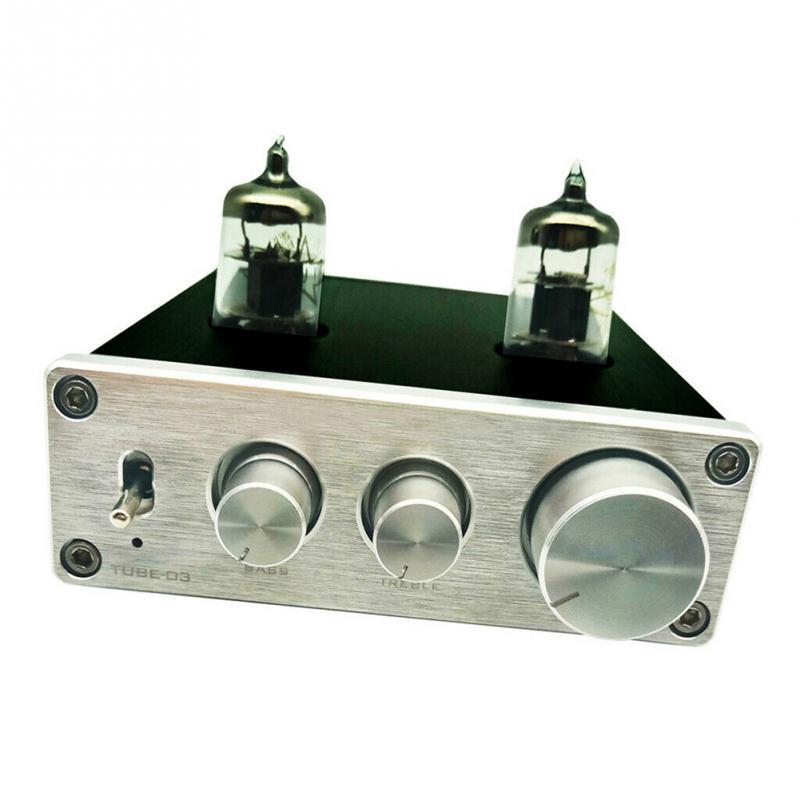 6k4 Rohr HIFI Phono Vacumn Home Mini Vorverstärker Plattenspieler Preamp Kopfhörer