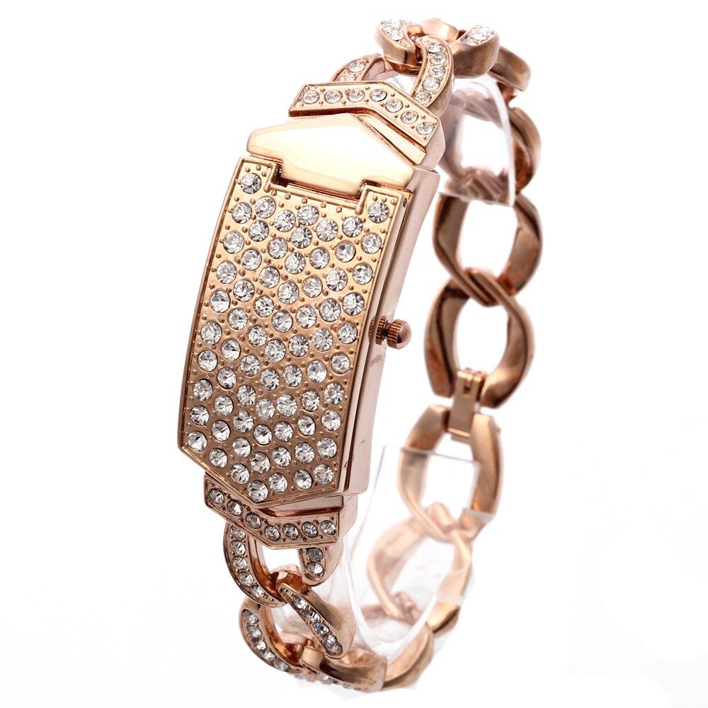 G&D Women Wristwatches Quartz Watch Relogio Feminino  Luxury Bracelet Dress Watch Saat Relojes Mujer Clock Female Gift Lady Gold enlarge