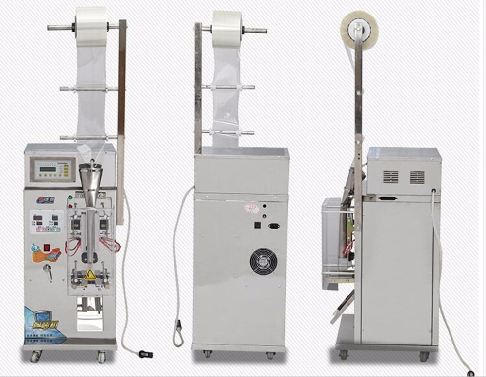 MG-600Automatic liquid packaging machine Automated quantitative Scale filling machine Bag forming-filling-sealing machine enlarge