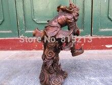 Bi0011836 voyage vers le mythe de louest   Singe en Bronze et cuivre, King Sun Wu kong, Statue de SunWukong