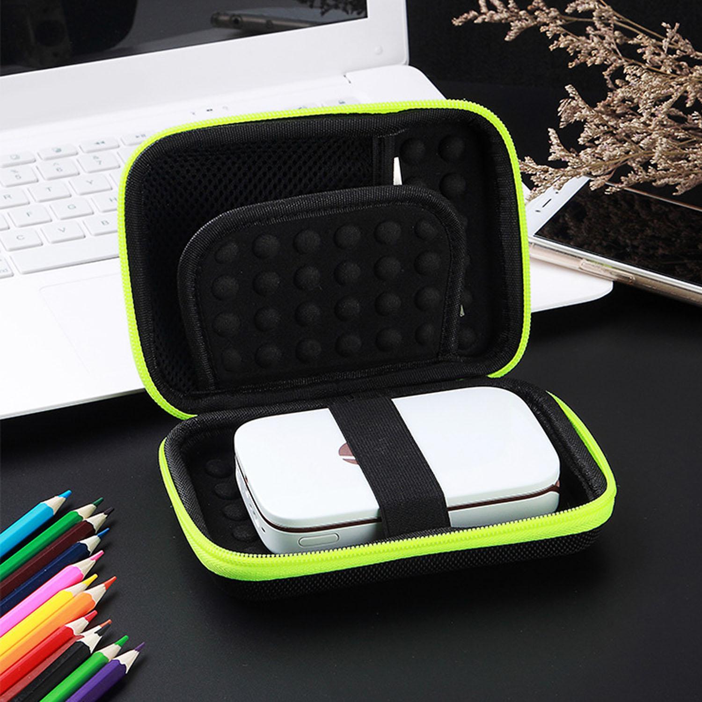 Gosear portátil de transporte de almacenamiento de protección EVA funda de la carcasa de la cubierta para LG Polaroid ZIP HP piñón foto accesorios de impresora