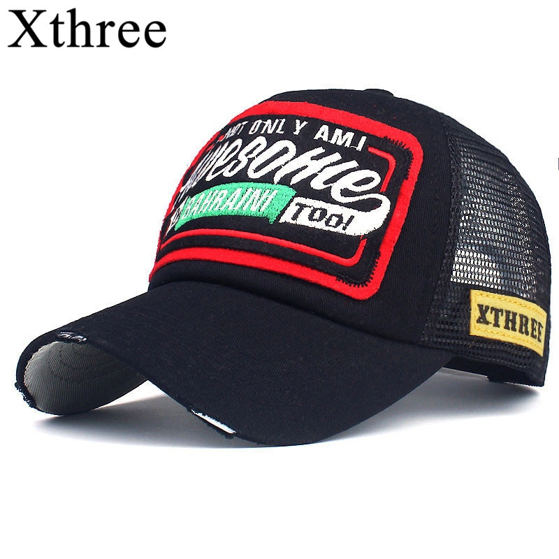 dsqicond2 cotton summer baseball cap for men women embroidery icon black dad hat hip hop dsq trucker cap hombre gorras casquette Xthree Summer Baseball Cap Embroidery Mesh Cap Hats For Men Women Snapback Gorras Hombre hats Casual Hip Hop Caps Dad Casquette