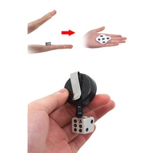 Funny Magic Tricks Hitting Flat Dice Close-up Magic Props Easy To Do for Beginner Magicians Mini Magic Props Toys