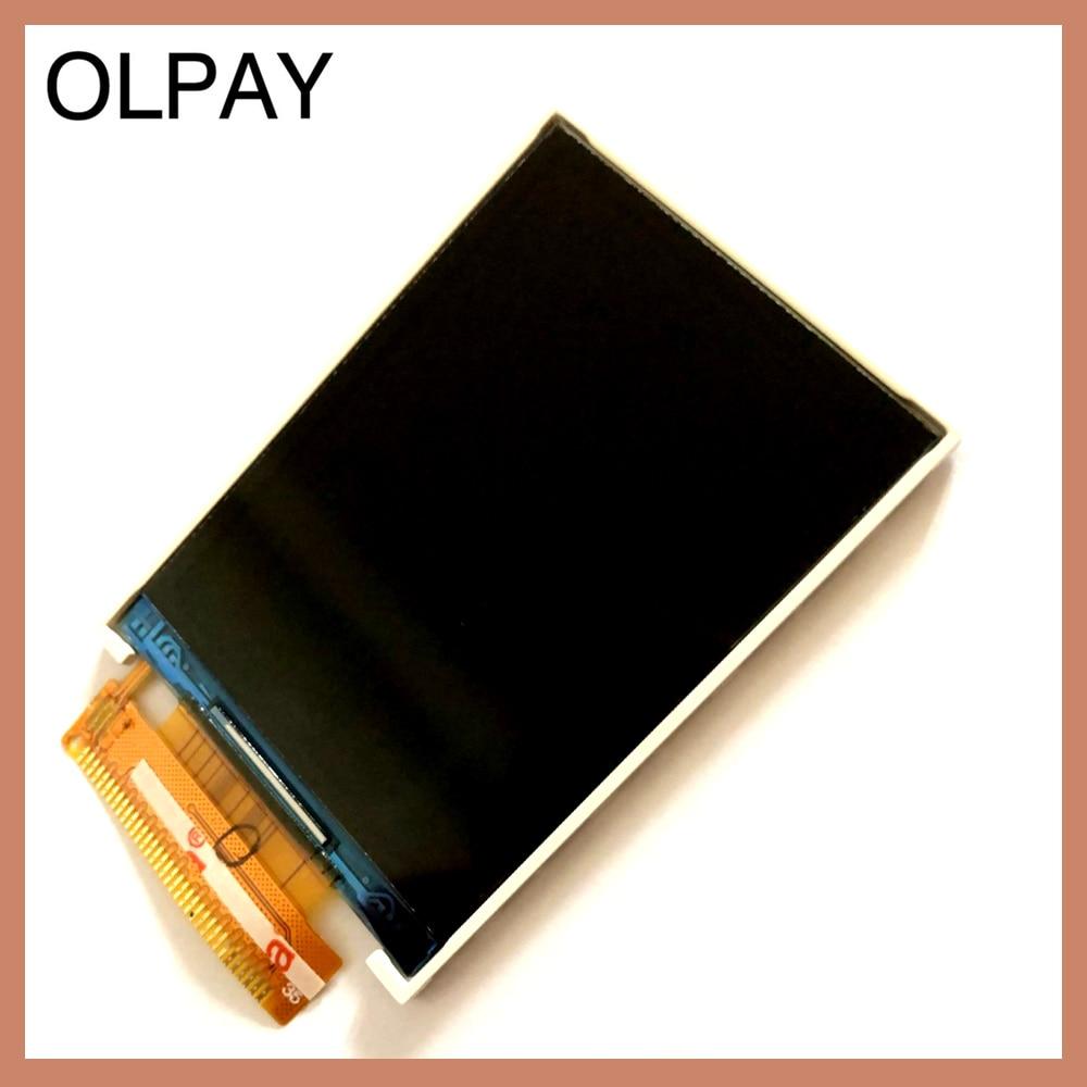 OLPAY para Philips Xenium E168 CTE168 Separate LCD con la pantalla táctil Pantalla de lente de cristal de Color negro con herramientas de cinta