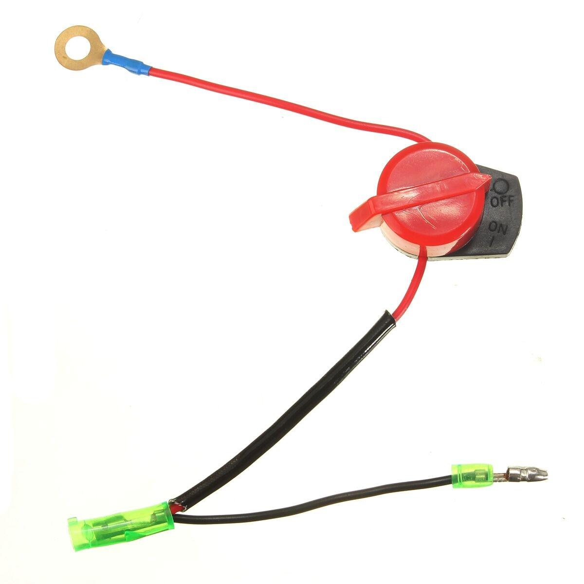 Interruptor de encendido y apagado de doble Cable para HONDA/GX120/GX160/GX200/GX240/GX270/GX340/GX390