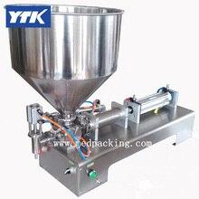 YTK champú de una sola cabeza máquina de llenado de pasta cosmética 1000-5000 ml moler