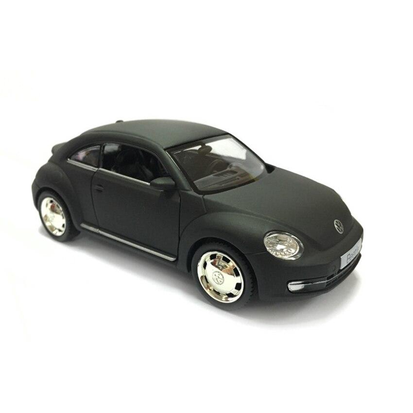 Реплика R 2012 Beetle 136, игрушечная машинка из сплава с обратной связью, Авторизованная оригинальная фабричная модель, коллекция игрушек для дет...