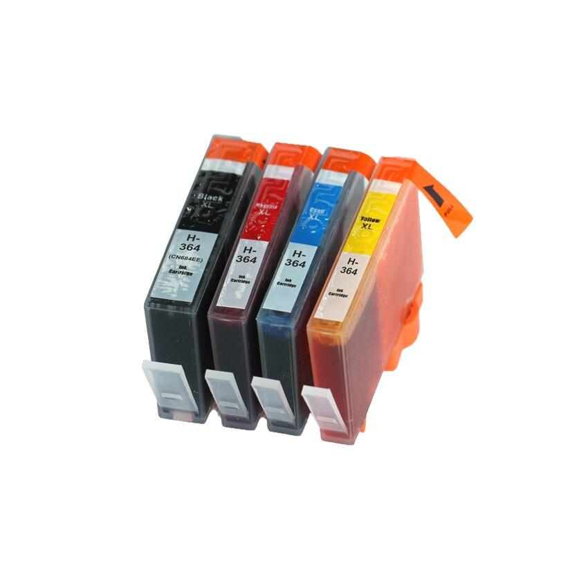 BLOOM compatible para HP 364 364 BK cartucho de tinta para HP Photosmart 6515, 6520, 6525, 7510, 7515, 7520 B010a B110a B110c impresoras