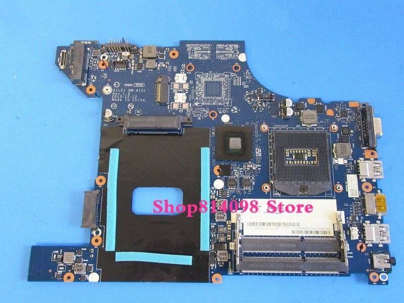04X4790 AILE1 NM-A151 para Lenovo Thinkpad Edge E440 HD Graphics Laptop Motherboard S947 DDR3L sem placa de vídeo