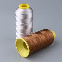 Fil à broder en Polyester 5000 mètres/bobine   Fil à broder 108 d pour main/Machine, couture artisanat amoureux, fournitures doutils de couture