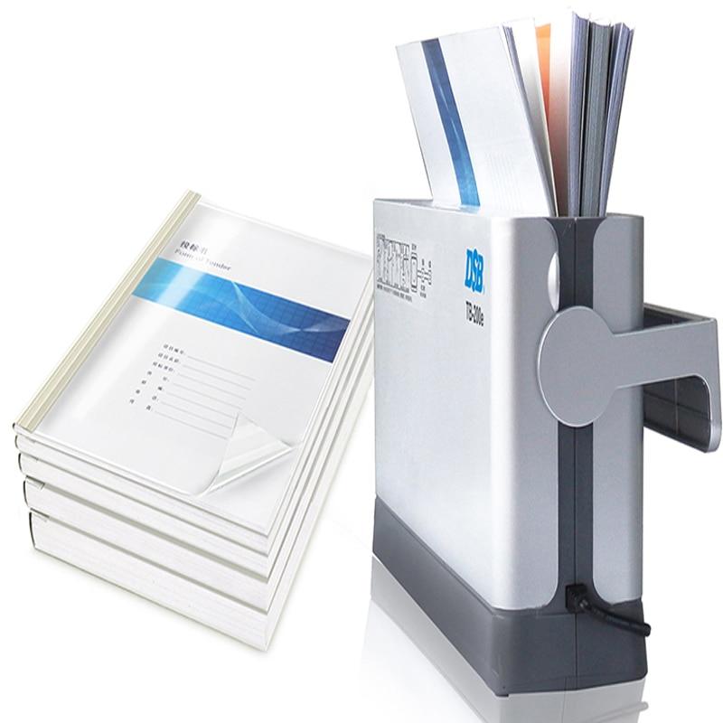 ماكينة تجليد حراري TB-200E مستندات كهربائية ماكينة تجليد الذوبان الساخن ، المكتب والمدرسة واللوازم المنزلية 220 فولت