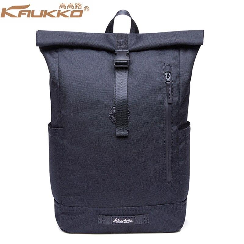 KAUKKO mochila de gran capacidad portátil mochila hombros bolso de las mujeres de los hombres de negocios viajes deporte mochila