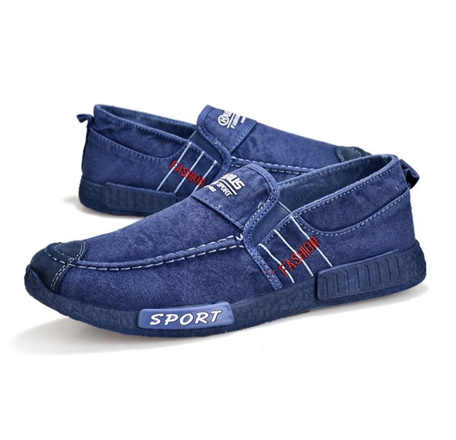 2020, zapatos informales transpirables para hombre, zapatillas de tela vaquera para hombre, zapatos planos de moda, mocasines, alpargatas, zapatillas suaves para hombre