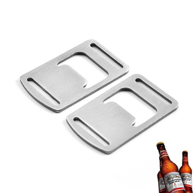 Abridor de botellas de acero inoxidable, accesorio de cocina, para Bar en...