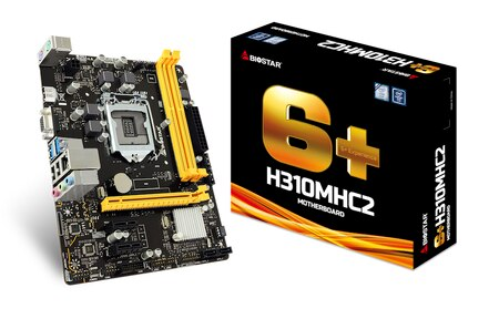 BIOSTAR H310MHC2 placa base Intel H310/LGA 1151