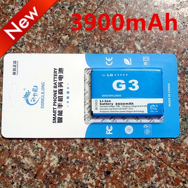 2019 NEW DLL 3900mAh BL-53YH Battery For LG G3 Battery D858 D855 D857 D859 D850 F400 F460 F470 D830 D851 VS985 Battery BL53YH