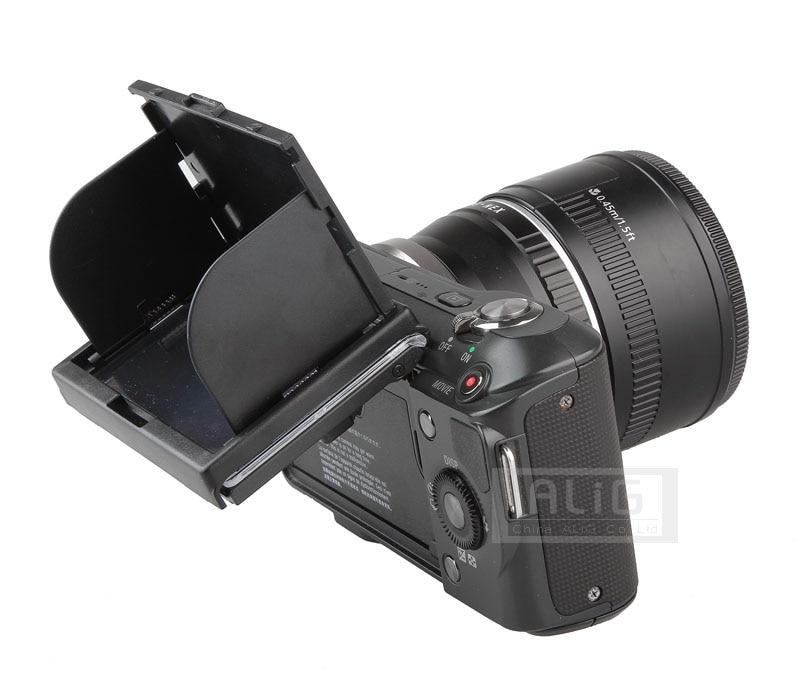 Cámara de pantalla de monitor LCD proteger quitasol transparente para Sony NEX3 NEX5 NEX-5C