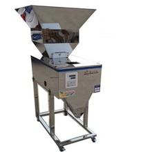 식품 자동 무게 건 드리는 기계 세분화 된 분말 약용 포장 기계 큰 호퍼 충전 기계 20-2500g