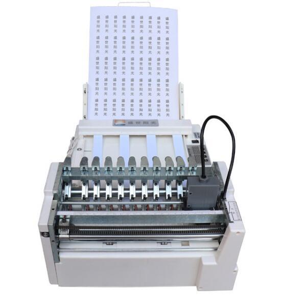 Máquina de Corte Automática da Etiqueta do Desktop Dobro de Alta a4 do Modelo Velocidade