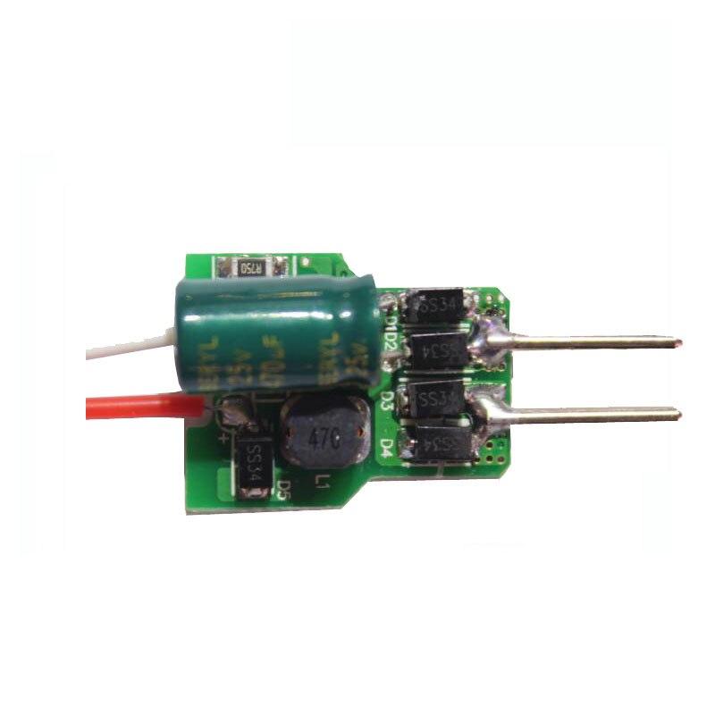 100X Высокое качество 100 шт./лот (4-7) * 1 Вт AC/DC12V Светодиодный драйвер может быть поддерживает диммер DHL FEDEX UPS TNT EMS бесплатная доставка
