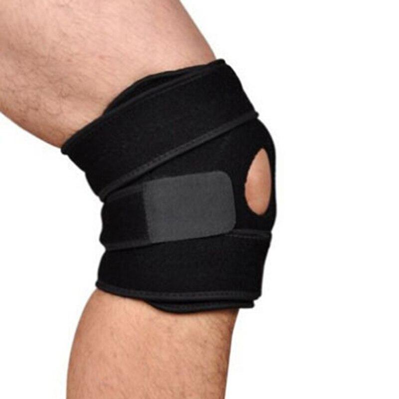 Rodilleras elásticas, rodilleras ajustables, correa de seguridad para rodilleras 1 unidad