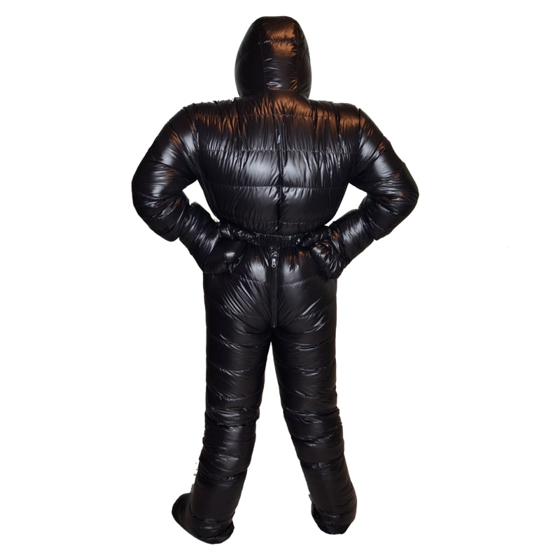 ¡Nuevo estilo de 2018! chaqueta de plumas de ganso de 2000g, traje de plumón de invierno profesional impermeable de relleno Polar