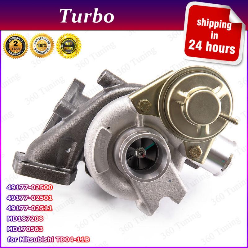 Para Mitsubishi L200 Shogun 2,5 TF035 compresor turbocompresor 85kw MR968080 49S3502652 2002 de 49135-02652