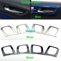 car interior door handle trim cover auto accessories car styling stainless steel for renault koleos samsung qm6 2017 2018 2019